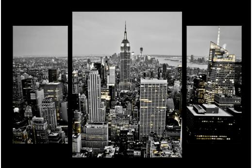 Модульная картина Нью-Йорк