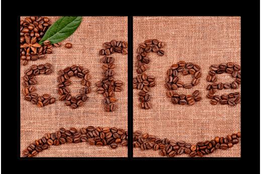 Модульная картина Coffe